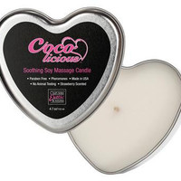 Coco Licious Soy Massage  Candle