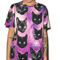 Kill Star Cozmic Kitty Tee Multi