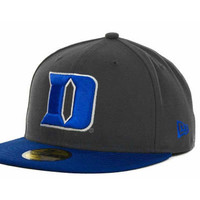 Duke Blue Devils NCAA 2 Tone Graphite and Team Color 59FIFTY