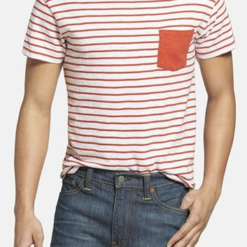 Men's Grayers Breton Stripe Crewneck T-Shirt,