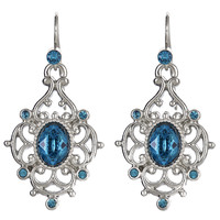 CHANTILLY Drop Earrings - Indicolite