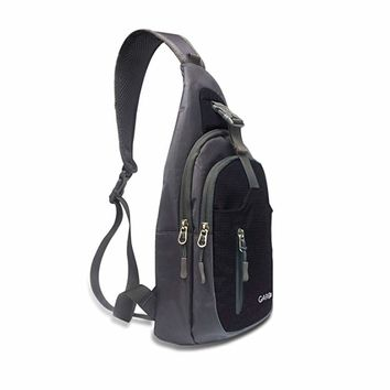 CARQI Sling Bag Shoulder Backpack Crossbody Purse for Hiking Camping