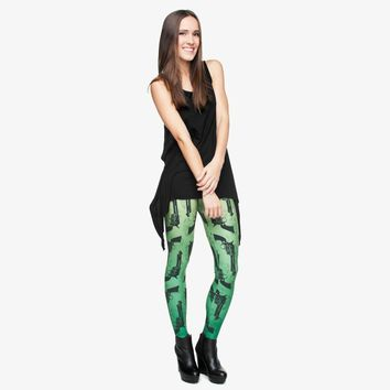 Revolver Print Leggings