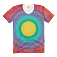 For The Love Bubble of 24 [Eye of Fire God] || Women's sublimation t-shirt — Future Life Fashion