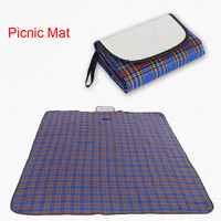 Waterproof Outdoor Picnic Mat Foldable Beach Camping Baby Climb Plaid Blanket Mat Rug