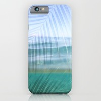 Palms over water  iPhone & iPod Case by Sunkissed Laughter