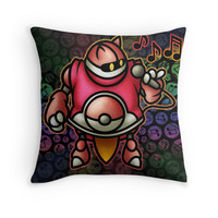 'Gato' Throw Pillow by likelikes