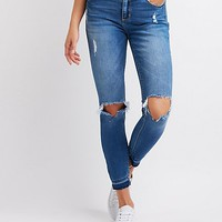 Cello Destroyed Skinny Jeans | Charlotte Russe