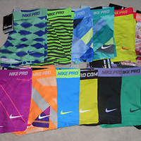 "Nike Pro 2.5"" Core Essentials Compression Shorts (1-Pair) Yoga Spandex"