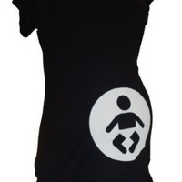 baby icon maternity tee