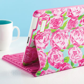 Lilly Pulitzer Bluetooth iPad Keyboard Case