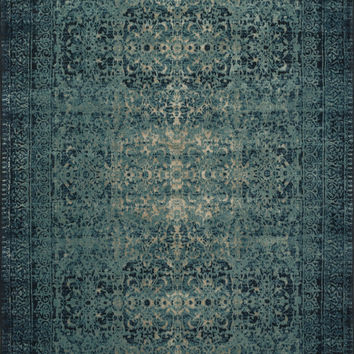 "Journey ""digo / Blue 2'4"" X 7'9"" Rug"