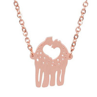 Love Giraffe Necklace - 3 colors