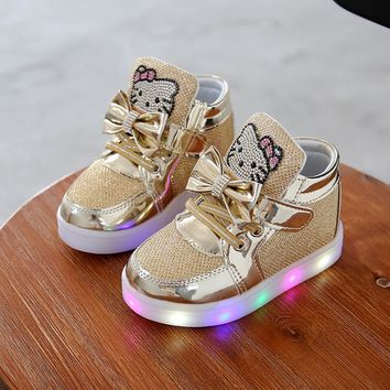 Children's Light Up Shoes Sneakers Toddler Little Kid LED / 5 color choices