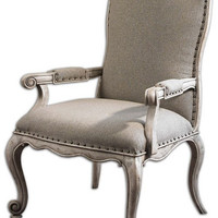 Uttermost Jonas Antiqued ArmChair - 23602