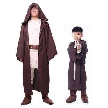 PEAPON Children Star Wars cosplay costume Force Awakens Jedi Knight Anakin halloween costume for kid boy Anacarnival party fancy dress
