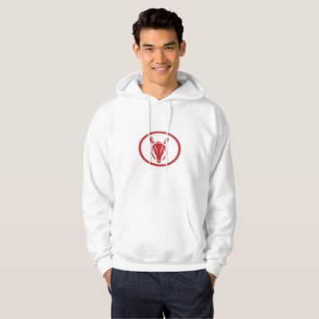 Armadillo Head Circle Retro Hoodie