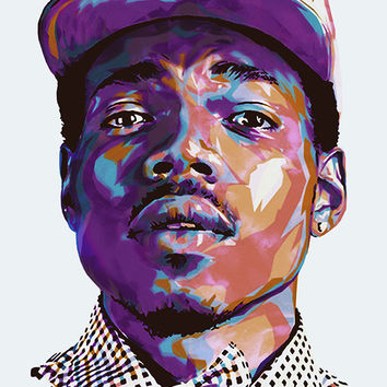 Chance The Rapper Acid Rap Art Poster