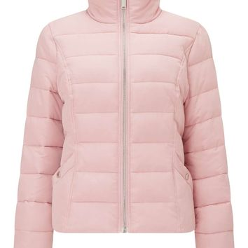 Pink Puffer Jacket - View All - New In