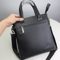 2020 New Office VERSACE men business bags computer Canvas Saddle back pack travel bags Monogram Handbag Neverfull Bags Tote Shoulder   Bag Wallet Purse Bumbag Discount Cheap Bags Best Quality