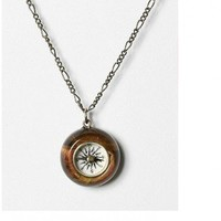 UO Compass Necklace / UrbanOutfitters.com