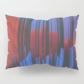 Sunset Melodic Pillow Sham by duckyb