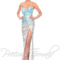 Precious Formals Dress C55225 at Peaches Boutique