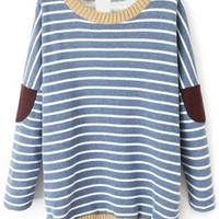 Sweet Striped Sweater - OASAP.com