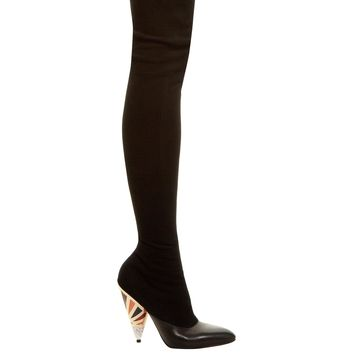 GIVENCHY Prism over-the-knee suede boots