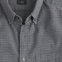 J.Crew Mens Heather Twill Shirt In Houndstooth