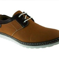 Imarc Men's Oneonta Two Tone Lace up Chukka Shoes