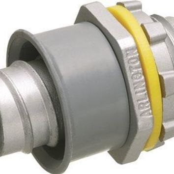 Arlington Screw-in Liquid Tight Connector, Non-metallic, 1-2 In.