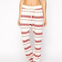 Oysho Stripe Lounge Bottom