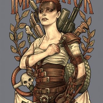 AVE FURIOSA Art Print by Medusa Dollmaker | Society6