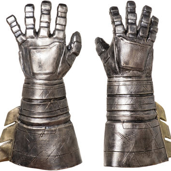 costume accessory: dawn of justice batman armored gauntlets