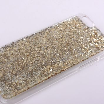 Bling Glitter for Iphone 6 Iphone 6 Plus Shiny for Iphone 5c 5s Phone Case (case for iphone 5/5s)