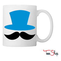 top hat and enormous moustache ringmaster Coffee & Tea Mug