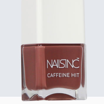 Nails inc Caffeine Hit Afternoon Mocha Nail Polish 14ml | Nails inc.US