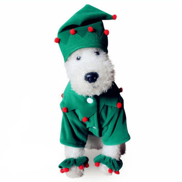 Winter Pets Apparel Christmas Hats Costume Set [8872713542]