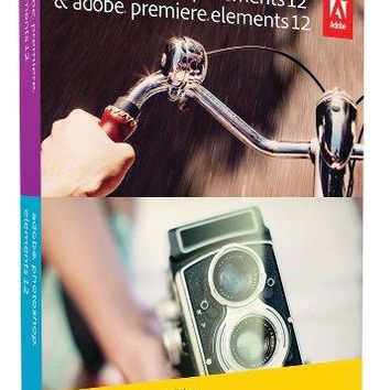 Adobe Photoshop & Premiere Elements 12 - Student and Teacher Edition (AUTH REQ)