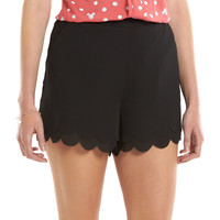 Women's LC Lauren Conrad Scalloped Soft Shorts