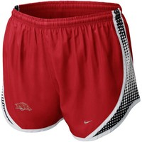 Nike Arkansas Razorbacks Ladies Cardinal Seasonal Tempo Performance Shorts