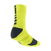 Nike Dri-FIT Elite Crew Basketball Socks Large - Cyber