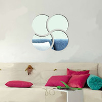Mirror Acrylic Living Room Bedroom Sofa Decoration Wall Sticker [6283171654]