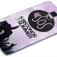 GOWENXDCD - 5 Seconds Of Summer Custom Case for Samsung Galaxy S4 S5 (Samsung Galaxy S5 White)