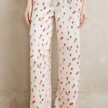 Eloise Balloon Ride Sleep Pants in Ivory Size: