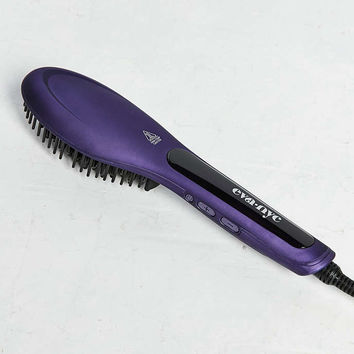 Eva NYC Healthy Heat Straightening Brush - Urban Outfitters