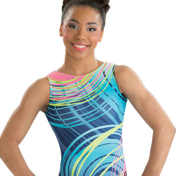Spin Art Sublimated Leotard from GK Elite