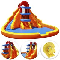 Cloud 9 Climb 'n' Slide - Inflatable Outdoor Water Slide and Climbing Wall