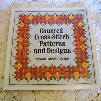 Swedish Cross Stitch Pattern Book 1976